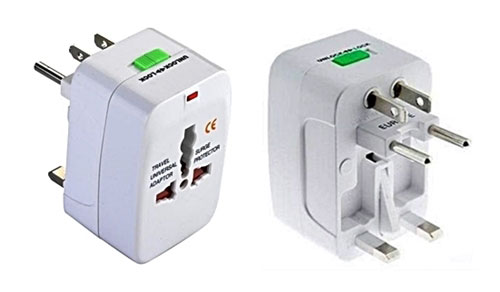Universal Travel Adapter Amp Surge Protector