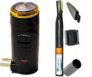 Electric Body Shaver MK2 With Micro Trimmer, Nose And Ear Hair Removal