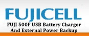 aa aaa usb battery charger and_portable_external power backup by fujicell