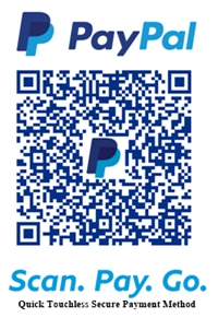 Scan to pay with your credit card via PayPal